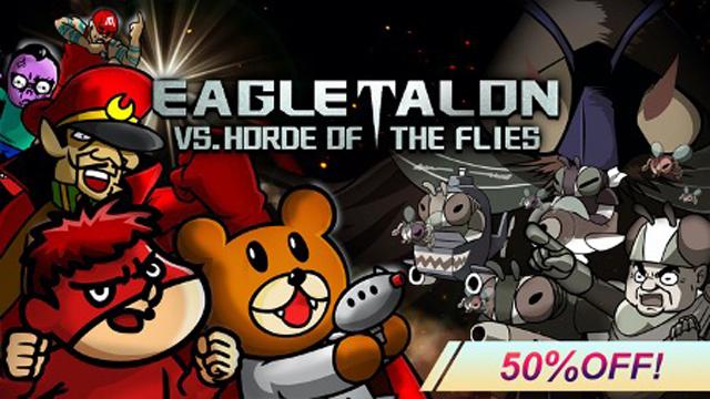 """EAGLETALON vs. HORDE OF THE FLIES"" is 50% off!"