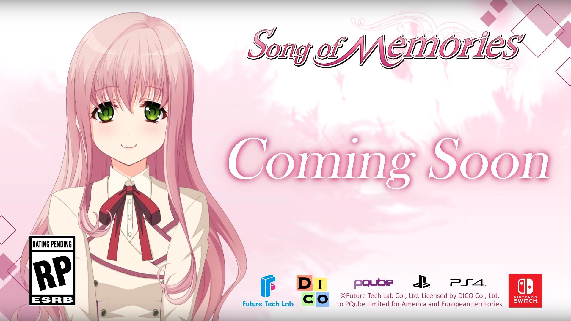 Nintendo Switch「Song of Memories ~ソングオブメモリーズ(シナリオ完全収録)」今春発売!翻訳・ローカライズしPS4版とSwitch版を欧米でリリース!